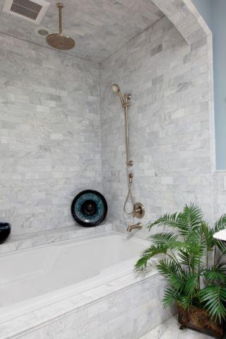 浴室美式风格效果图大全2017图片_土拨鼠时尚温馨浴室美式风格装修设计效果图欣赏