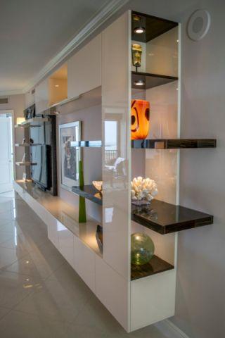 客厅现代风格效果图大全2017图片_土拨鼠豪华休闲客厅现代风格装修设计效果图欣赏