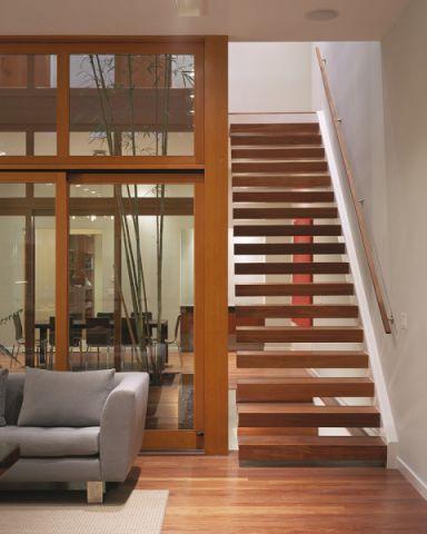 楼梯现代风格效果图大全2017图片_土拨鼠现代休闲楼梯现代风格装修设计效果图欣赏