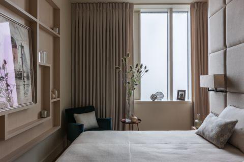 卧室现代风格效果图大全2017图片_土拨鼠浪漫奢华卧室现代风格装修设计效果图欣赏