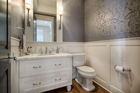 浴室美式风格效果图大全2017图片_土拨鼠豪华富丽浴室美式风格装修设计效果图欣赏