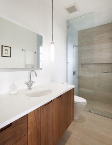 浴室现代风格效果图大全2017图片_土拨鼠大气创意浴室现代风格装修设计效果图欣赏