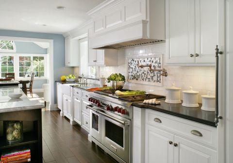 厨房现代风格效果图大全2017图片_土拨鼠完美自然厨房现代风格装修设计效果图欣赏