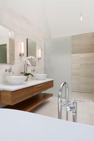 浴室现代风格效果图大全2017图片_土拨鼠休闲摩登浴室现代风格装修设计效果图欣赏