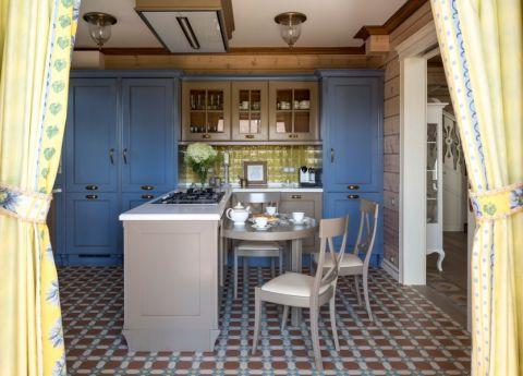 厨房混搭风格效果图大全2017图片_土拨鼠温暖唯美厨房混搭风格装修设计效果图欣赏
