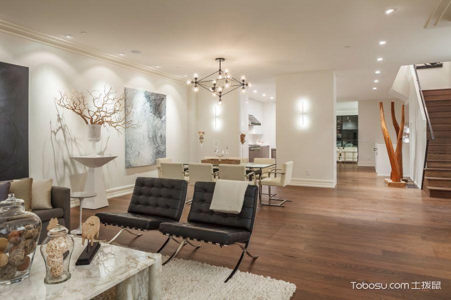 客厅背景墙现代风格装潢设计图片_土拨鼠装修效果图