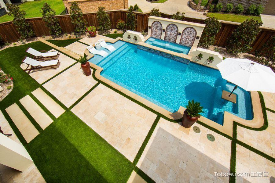 2018地中海设计图片 2018地中海泳池装修设计图片
