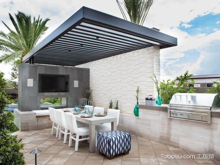 2021地中海240平米装修图片 2021地中海别墅装饰设计
