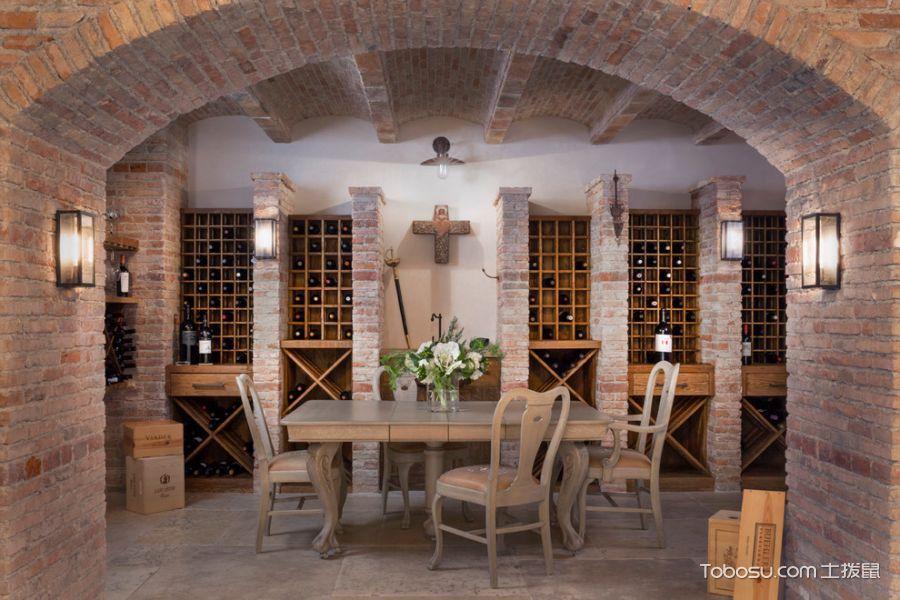 2018地中海设计图片 2018地中海酒窖装饰设计