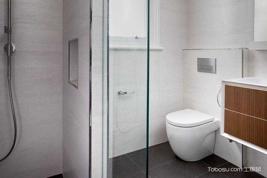 2019现代浴室设计图片 2019现代隐形门装修效果图片