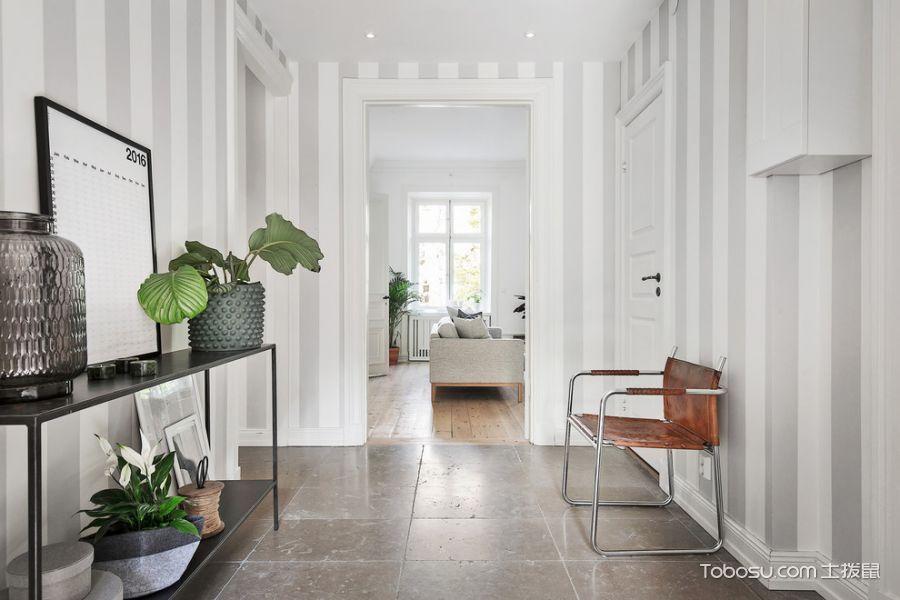 玄关彩色走廊北欧风格装修效果图