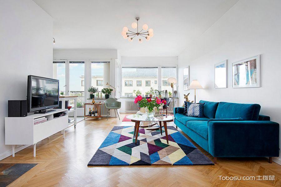 现代风格四居室150平米装修图片