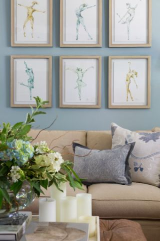 2019美式客厅装修设计 2019美式设计图片