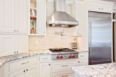 厨房现代风格效果图大全2017图片_土拨鼠温馨优雅厨房现代风格装修设计效果图欣赏