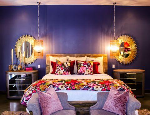 卧室混搭风格效果图大全2017图片_土拨鼠美感迷人卧室混搭风格装修设计效果图欣赏