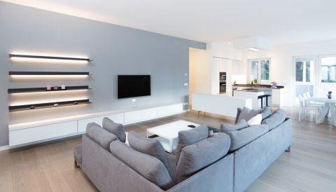 客厅现代风格效果图大全2017图片_土拨鼠清新舒适客厅现代风格装修设计效果图欣赏
