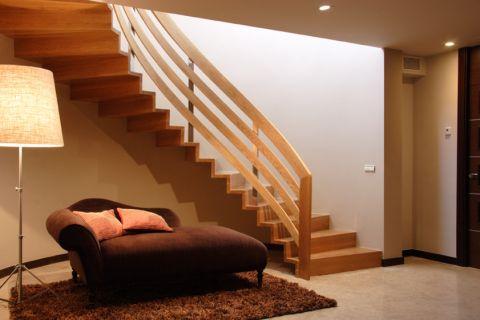 楼梯现代风格效果图大全2017图片_土拨鼠清爽时尚楼梯现代风格装修设计效果图欣赏