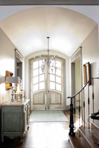 厨房美式风格效果图大全2017图片_土拨鼠典雅沉稳厨房美式风格装修设计效果图欣赏