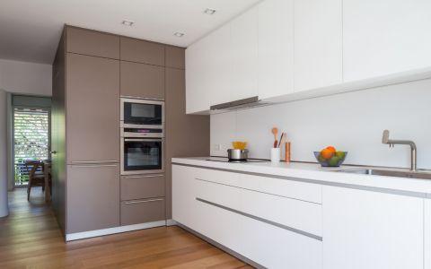 厨房现代风格效果图大全2017图片_土拨鼠完美唯美厨房现代风格装修设计效果图欣赏