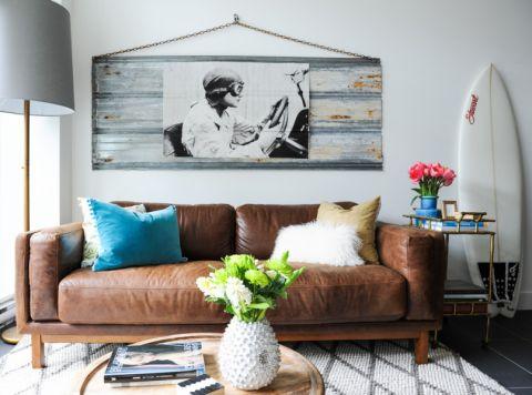 客厅混搭风格效果图大全2017图片_土拨鼠温馨富丽客厅混搭风格装修设计效果图欣赏