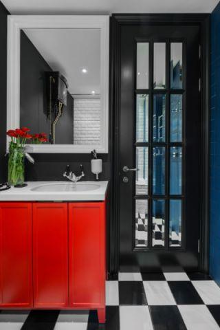浴室混搭风格装潢效果图