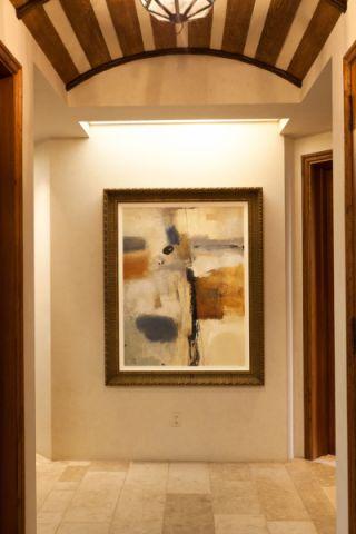 走廊地中海风格装饰效果图