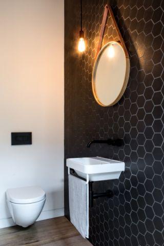 卫生间现代风格装潢效果图