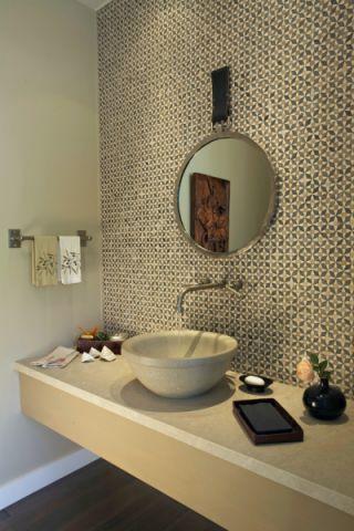 浴室地中海风格装修设计图片