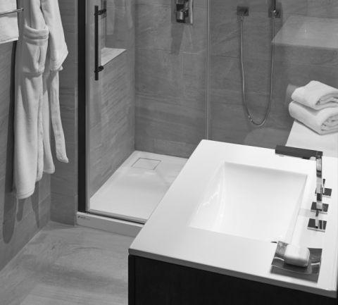 浴室现代风格装饰图片