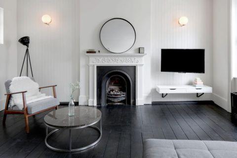 现代风格三居室135平米装饰设计图片