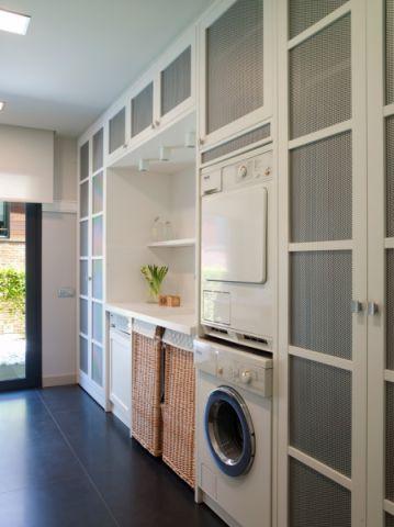 厨房现代风格效果图大全2017图片_土拨鼠极致清新厨房现代风格装修设计效果图欣赏