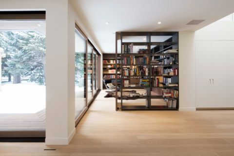 现代风格楼房300平米装修图片
