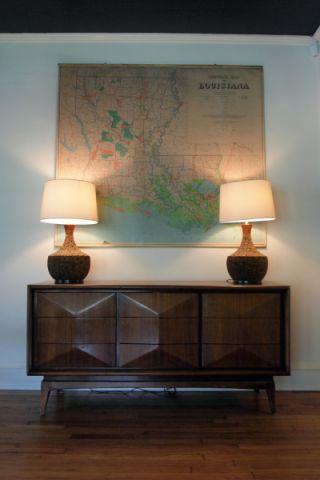 客厅咖啡色地板砖混搭风格装饰效果图