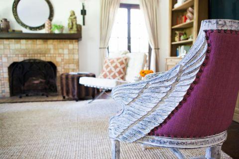 客厅白色窗帘混搭风格装饰设计图片