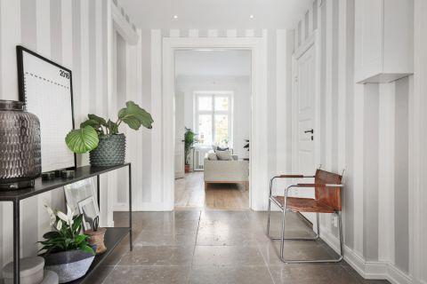 玄关彩色走廊北欧风格效果图