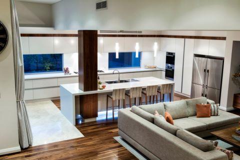 厨房隔断现代风格装修效果图