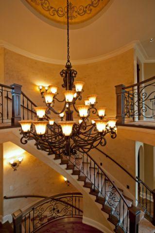 玄关吊顶地中海风格装饰设计图片