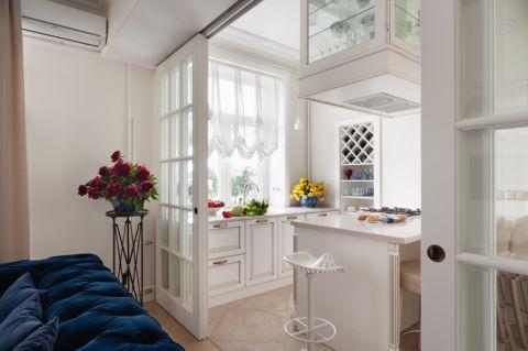 80平米公寓美式风格装修图片
