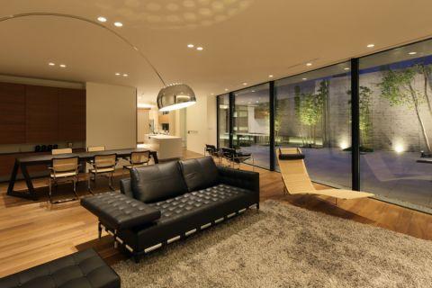 180平米四居室现代风格装饰图片