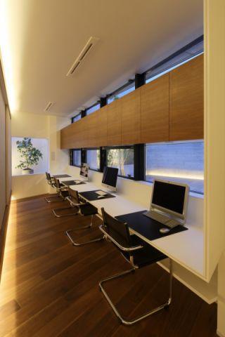 书房吊顶现代风格装修设计图片