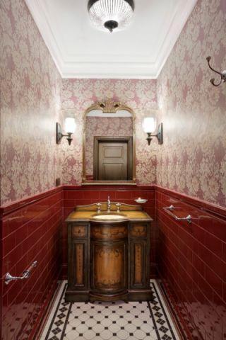 浴室吊顶美式风格装修设计图片