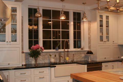 厨房窗台美式风格装潢图片