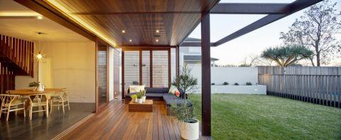 三居室167平米现代风格装修实景图片