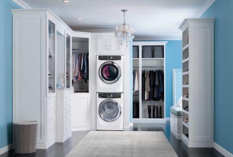 现代风格一居室89平米设计图欣赏