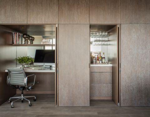 现代风格一居室85平米装修图片