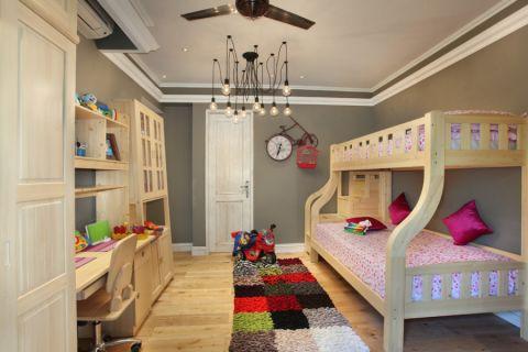 三居室131平米现代风格装修图片
