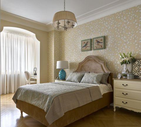 136平米别墅美式风格效果图图片