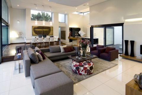 楼房167平米现代风格装修实景图片