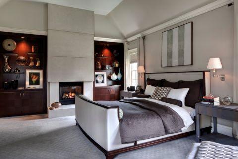 现代风格别墅300平米装修图片