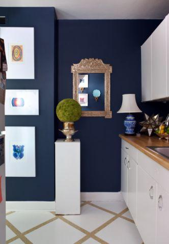 混搭风格一居室108平米装修图片